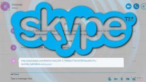 悪意のあるリンクは、Skype ウィルス再興の兆し