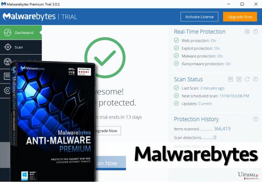 Malwarebytes 3.0 antimalware