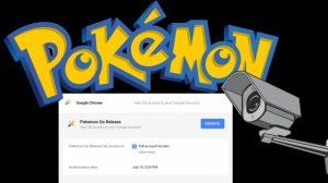 人気の Pokemon Go とそのプライバシー関連の問題点