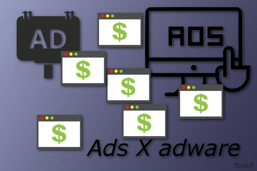 広告 X ウィルス