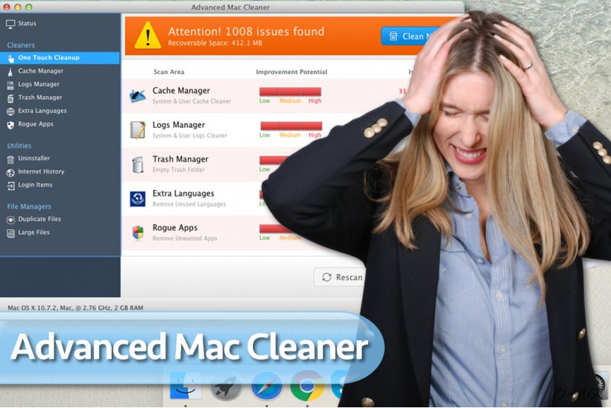 Advanced Mac Cleaner ウィルス