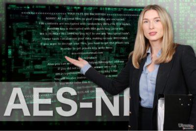 AEX-NI ランサムウェアのイメージ