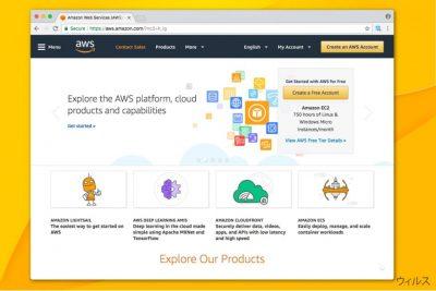 Amazonaws のイメージ