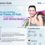 Better Deals広告のスクリーンキャプチャ