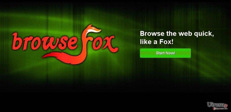 BrowseFoxのスクリーンキャプチャ