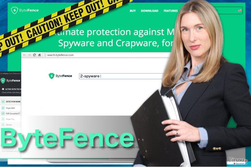ByteFence redirect