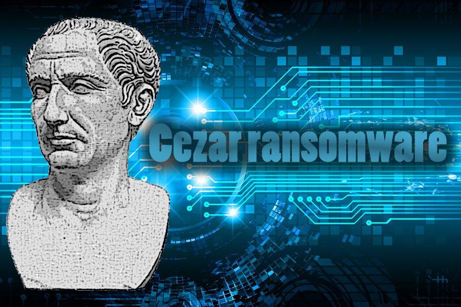 Cezar ランサムウェア・ウィルスのスクリーンキャプチャ