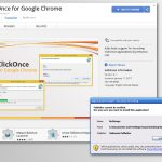 Chrome リダイレクト・ウィルスのスクリーンキャプチャ