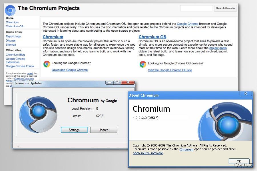 Chromium プロジェクト