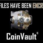CoinVault ウイルスのスクリーンキャプチャ