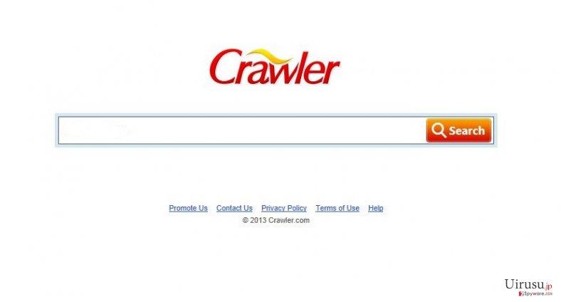 Crawlerのスクリーンキャプチャ