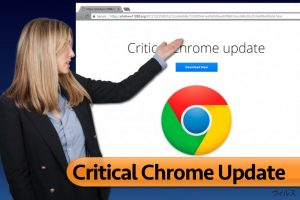 Critical Chrome Update ウィルス