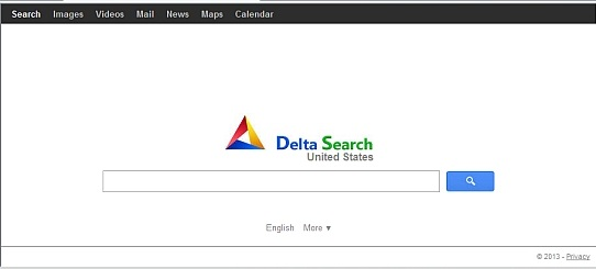 Delta Searchのスクリーンキャプチャ