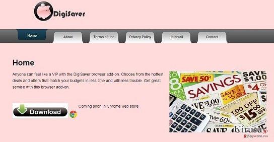 DigiSaverのスクリーンキャプチャ
