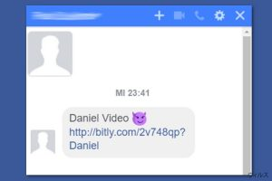 Facebook video ウィルス