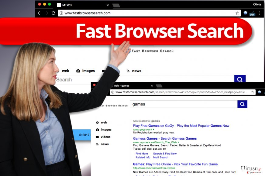 Fast Browser Search (Fast ブラウザ検索ウィルス)