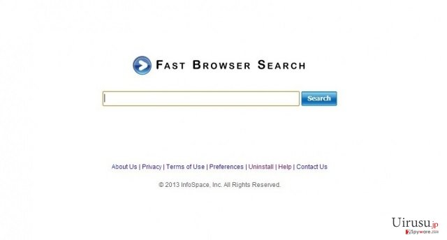 FfastBrowser Search (Fast ブラウザ検索)