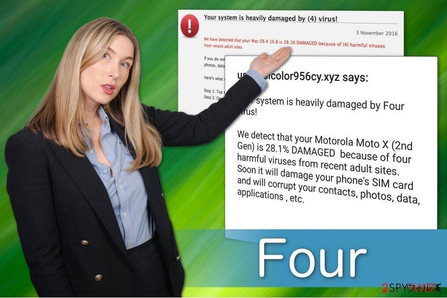 Four ウィルス