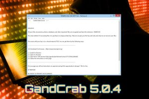 Gandcrab 5.0.4 ランサムウェア