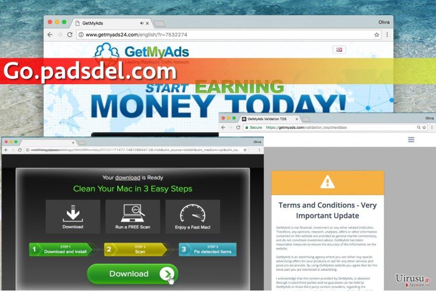 Go.padsdel.com ウィルス