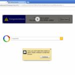 Google リダイレクトのスクリーンキャプチャ