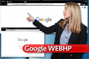 Google WebHP ウィルス