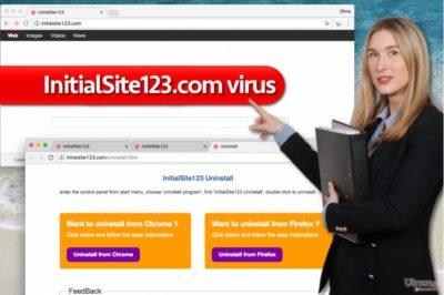 InitialSite123.com ウィルス