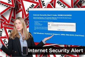 """Internet Security Alert"" ウィルス"