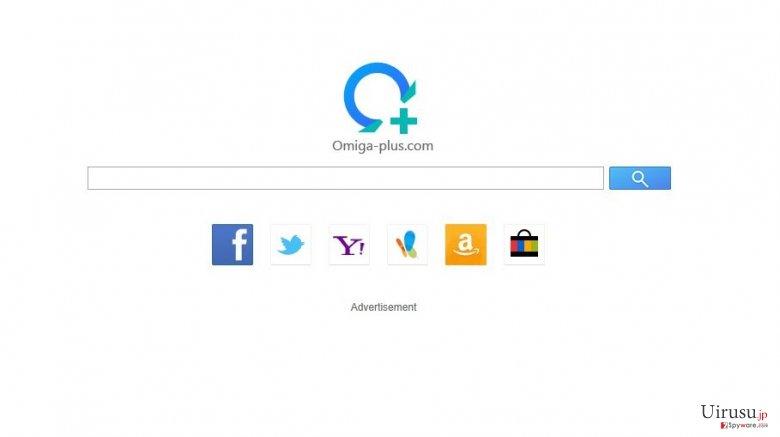 isearch.omiga-plus.comのスクリーンキャプチャ