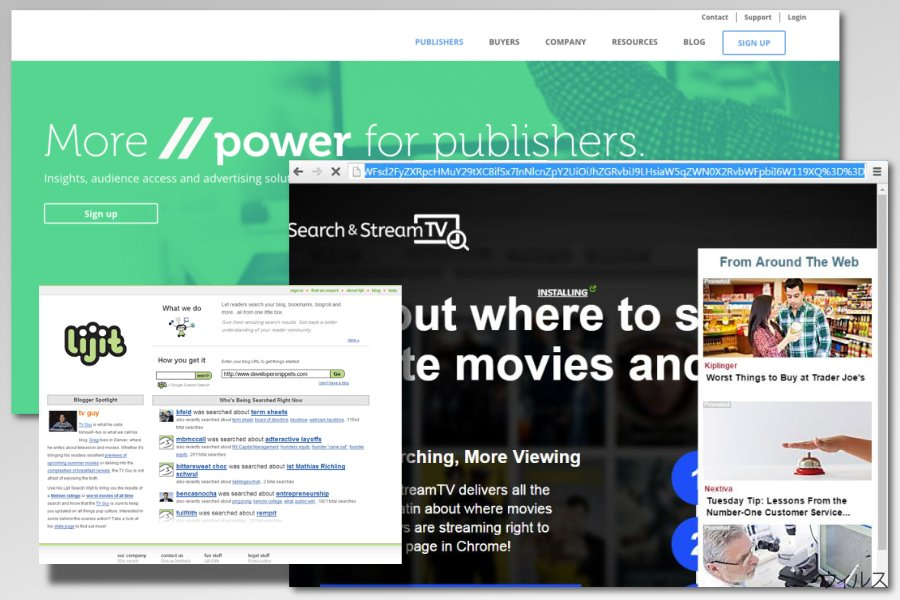 lijit.com アドウェアの例