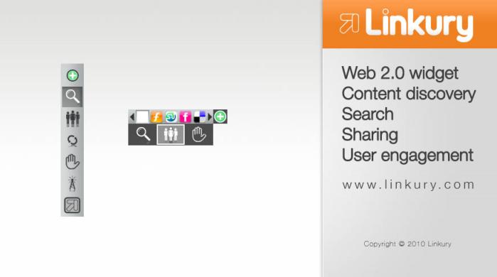 Linkury SmartBarのスクリーンキャプチャ