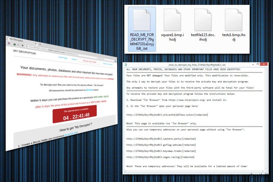 Magniber ランサムウェアは全てのファイルを暗号化します