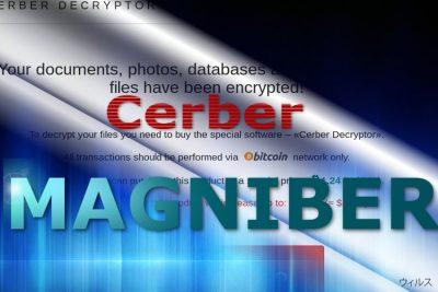 Magniber ウィルスの支払いサイト