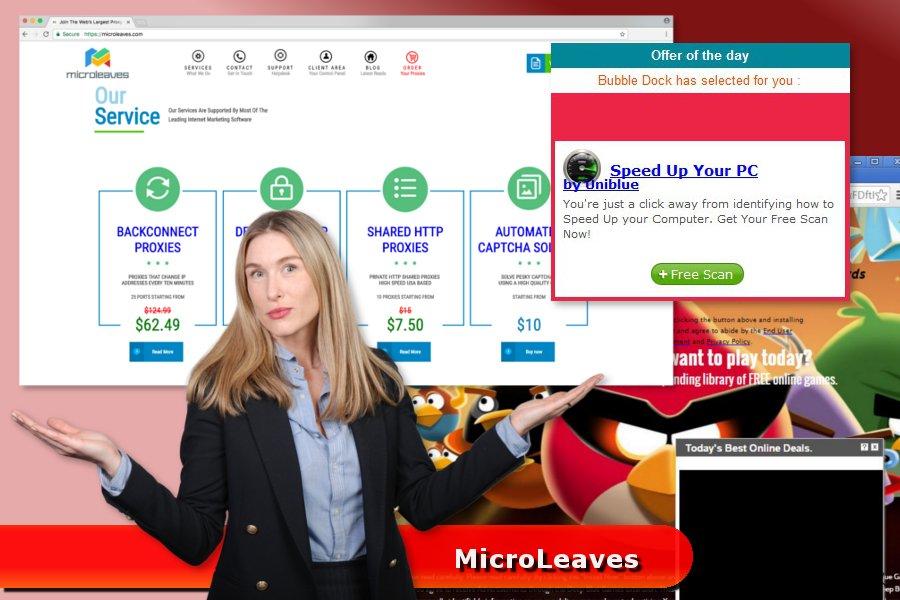 MicroLeaves ウィルス