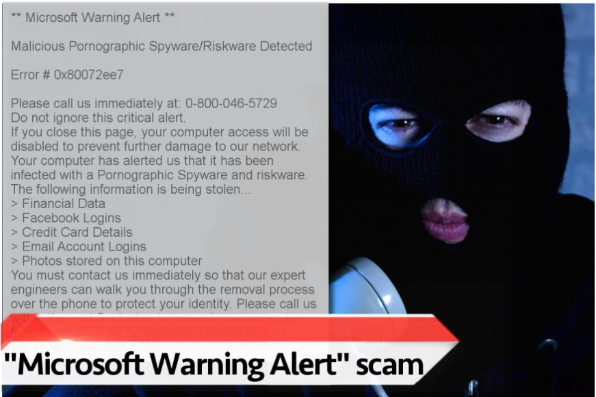 """Microsoft Warning Alert"" ウィルス"