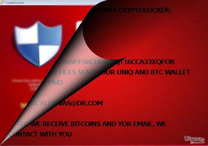 MNS Cryptolocker は CryptoLocker と関連があるのか?
