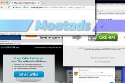 Moatads 広告は本当に迷惑です