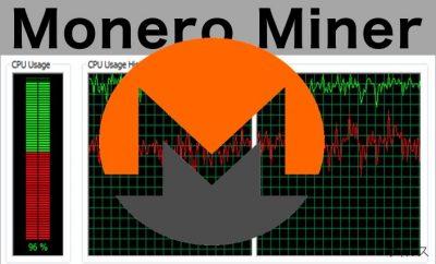 Monero Miner のイメージ