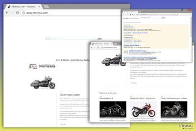 Motious.com ウィルスの写真