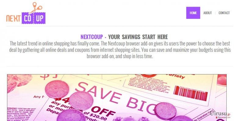 NextCoup adsのスクリーンキャプチャ