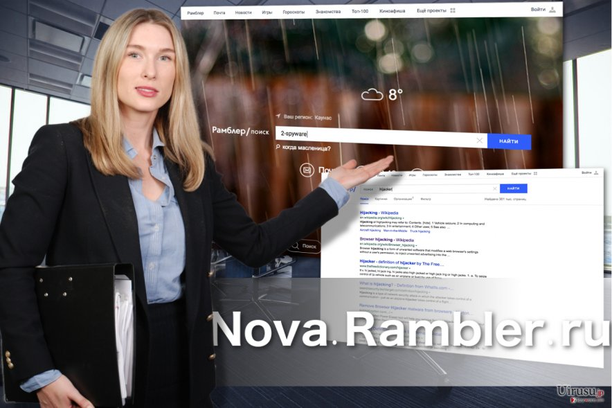 Nova Rambler の見た目
