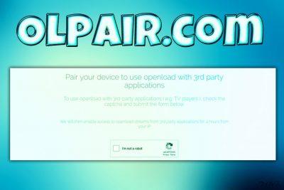 Olpair.com ウィルス