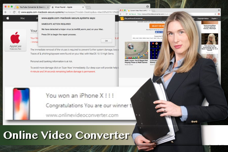 Online Video Converter ウィルス
