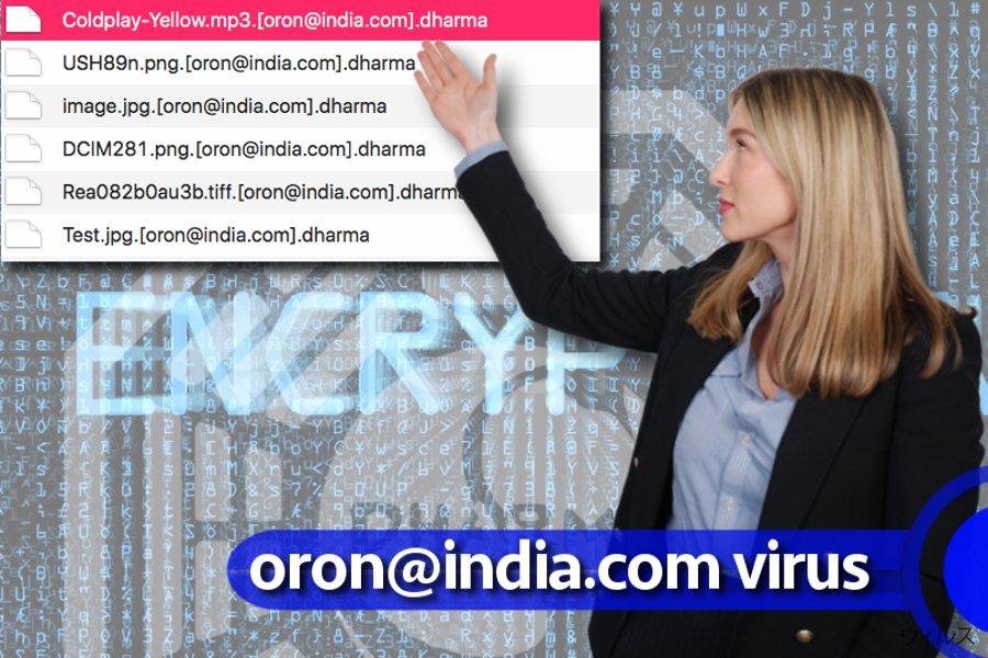 oron@india.com ウィルス
