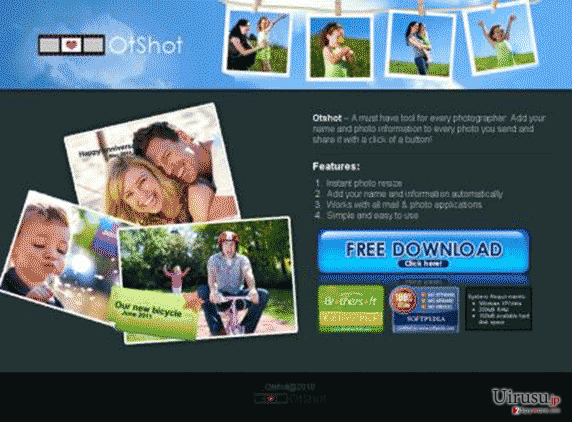 OtShotのスクリーンキャプチャ
