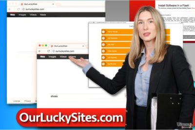 Ourluckysites.com ウィルス