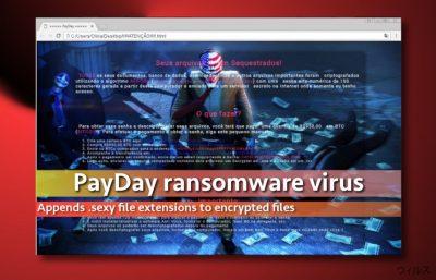 PayDay ウィルスのイメージ