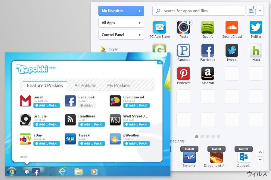 Pokki app screenshots