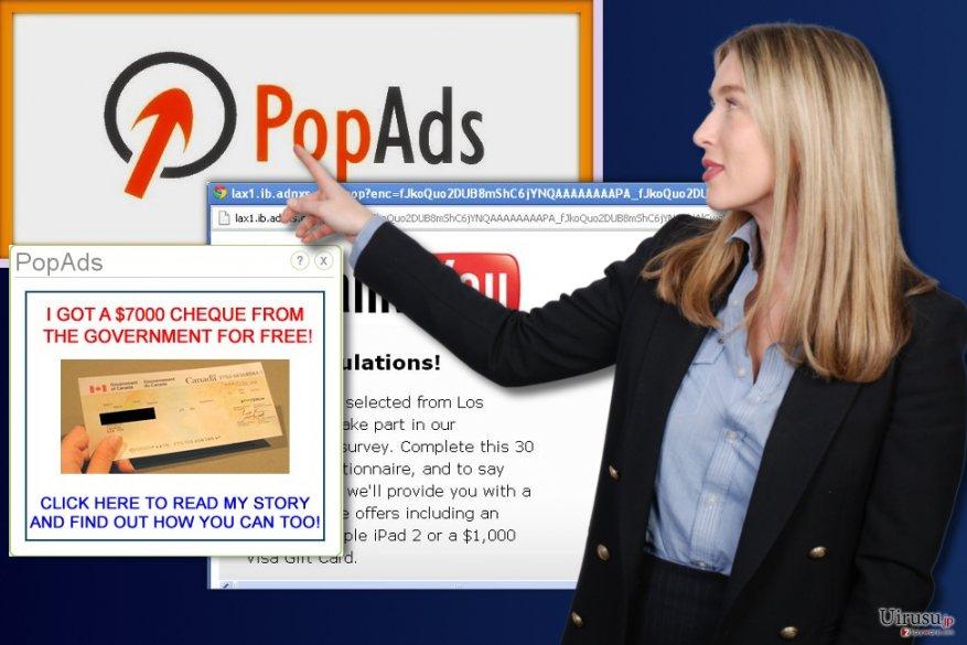 PopAds 広告