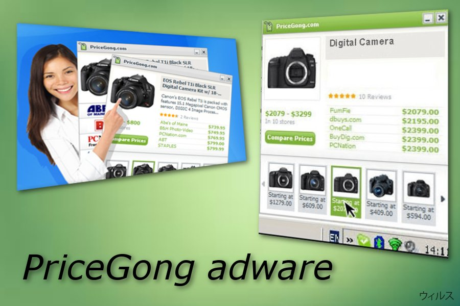 PriceGong アドウェア
